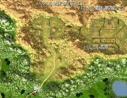 パルミル高原北部マップ