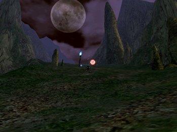 深夜のパルミル高原