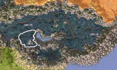 漆黒の森マップ(天使+ケンタ)