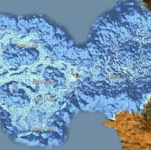 水晶峡谷入り口マップ