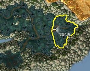 漆黒の森東部マップ