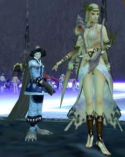 魔女帽プリ様と女王様