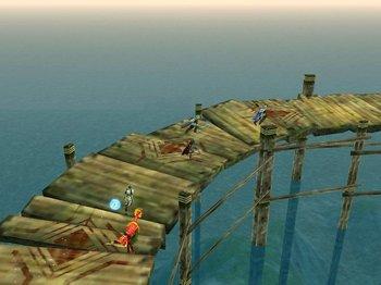 橋を渡り、最果ての地へ