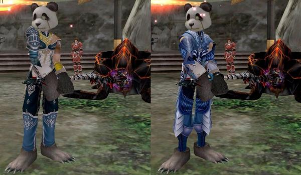 5R術師服+パンダ(前から)