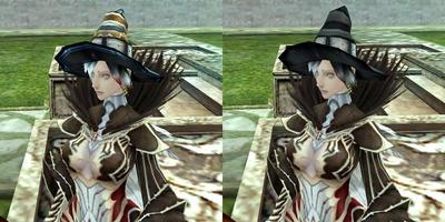 デーモンチュニックと魔女帽