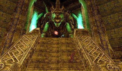 アブ部屋奥の階段
