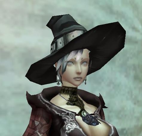 魔女のトンガリ帽:前から