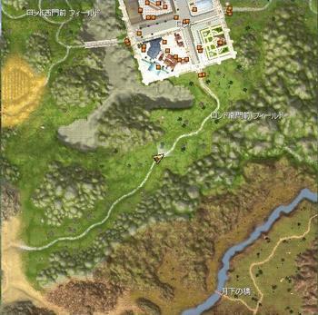 ロンド南門前フィールドマップ
