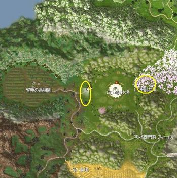 ロンド闘技場マップ