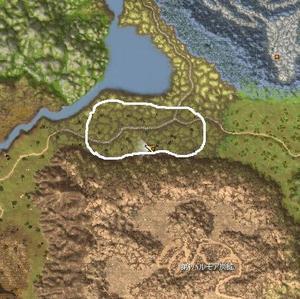 レンカ湖周辺
