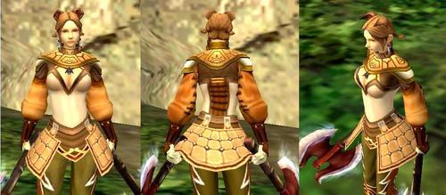 3R共通召喚鎧ユニコーンコート(近くから)
